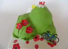 Bicycle and mountain spring Cake Fée la Fête