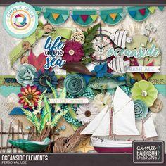 Digital Art :: Element Packs :: Oceanside Elements Pack