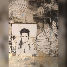 Gelliprint art, mixed media...