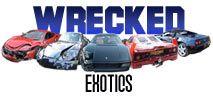 Wrecked Exotic Cars - Ferrari, BMW, Mercedes, Acura, Lamborghini, Porshce