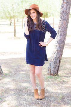 Look con vestido Étnico #kissmylook