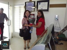 LTA's 8th CIDESCO batch students were examined by examiner Ms. Jeannie Sim from Singapore.