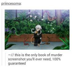 Book of Murder Screenshot on Tumblr