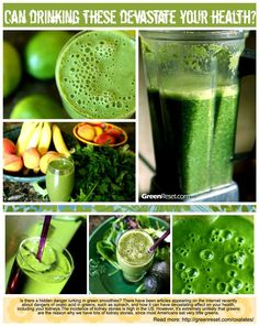 can green smoothies devastate your health with oxalates?