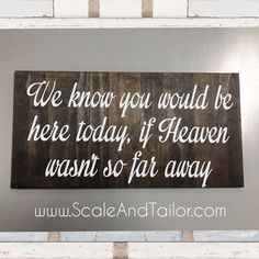 Another table sign to remember those who are no longer with us.  Add this with some photos and it creates such a personal touch to your wedding day. Check out this sign and others like it in our Etsy Shop - links in the bio ☝🏼️ #Etsy #EtsyCanada