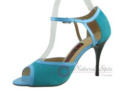 Natural Spin Tango Salsa Shoes/Tango Shoes/Fashion Shoes(Small Open Toe, Leather