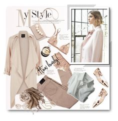 """""""Pretty Pastel Trench Coats"""" by anitadz ❤ liked on Polyvore featuring Nuevo, Gianvito Rossi, Chicnova Fashion, Chanel, Prada, women's clothing, women's fashion, women, female and woman"""