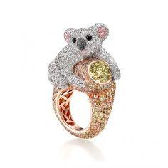 Coala ring...omg i need this ring! :)