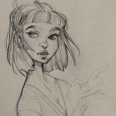 Weekend sketching! ❤ #art #artistsofinstagram #sketch #graphite #sketchbook…