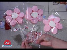 Florecitas de Bombon para San Valentin - YouTube