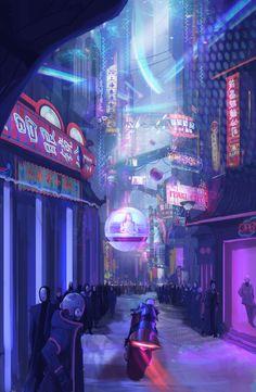 Scfi world concept by Marcus...