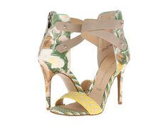 Modern but ladylike floral heels from Chinese Laundry. #heels #shoes #shoelove
