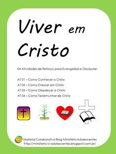 Ministério Adolescentes: Série Viver em Cristo! Reforço para Evangelismo e ...