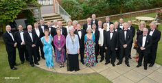 President Martin Lott June 2012-  Club Members outside The Hotel Victoria 2012