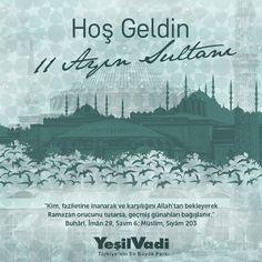 Hoş Geldin On bir Ayın Sultanı... #HoşgeldinRamazan #Ramazan #Ramadan