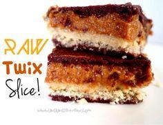Live Love Eat Raw - RAW TWIX SLICE!