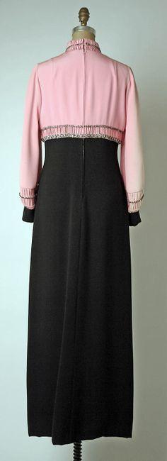 Pierre Balmain evening dress 1969-1970 from House of Balmain.