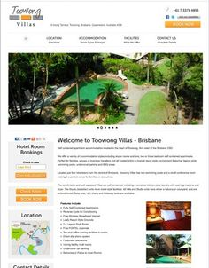 Toowong Villas, a member of the Charlton Hotel Group. Website photography and design.
