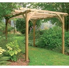 Image result for sturdy wooden rose arches