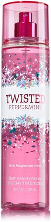 Twisted Peppermint Fine Fragrance Mist - Signature Collection - Bath & Body Works