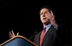 Photo #24 #prezpix #prezpixrs election 2012 candidate: Rick Santorum publication: Los Angeles Times LA Times AFP / Getty Images photographer: Jim Watson  publication date: 3/4/12