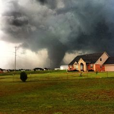 Horrifying Photos Of The Massive Tornado Tearing Through Oklahoma City (5.20.13)