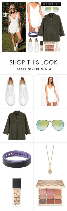 """""""Mollie King Style"""" by thestyleartisan ❤ liked on Polyvore featuring Ray-Ban, LC Lauren Conrad, NARS Cosmetics and Stila"""