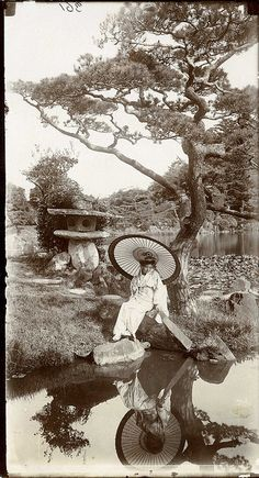 'In a Japanese Garden' by The National Archives UK, via Flickr