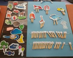 Word-making material from mixed syllables in pegs .- Mandallarda bununan karışık hecelerden kelime yapma materyali Word-making material from mixed syllables in pegs - Syllable, English Lessons, Alphabet, Words, Curtains, School, Classroom, Activities