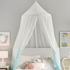 Pottery Barn Teen's bedroom wall decor features fun patterns and unique designs. Find teen bedroom wall decor and give the room a boost of style. Girls Bedroom Canopy, Teen Girl Bedrooms, Bedroom Decor, Bedroom Ideas, Decor Room, Room Decorations, Bed Ideas, Teen Bedroom, Bedroom Wall