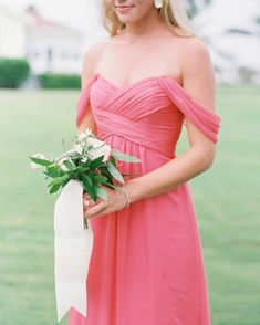 Sunny Boca Raton, Florida wedding designed with citrus details from start to finish. Amsale Bridesmaid, Neutral Bridesmaid Dresses, Bridesmaid Flowers, Flower Bouquet Wedding, Wedding Bridesmaids, Wedding Dresses, Party Dresses, Coral Wedding Cakes, Coral Wedding Colors