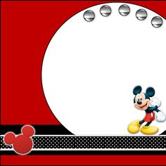 Love the simple ribbon, mickey head, and metal circles at the top.