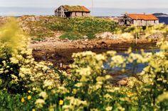 alte Hütten am Meer, Foto: S. Kretschmer