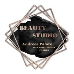 Logo design for beauty industry. #logodesign #beautytips #lashes #makeup #brows #lips #face Brows, Lashes, Beauty Studio, Beauty Industry, Beauty Hacks, Logo Design, Lips, Personalized Items, Makeup