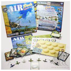 Memoir 44; Airpack expansion, BGG rating 6.8