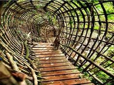 "Josep Pujilula's LABYRINTH an art environment alongside the Fluvia, river in Catalonia, Spain.Begun in ""After creating his initial… Places To Travel, Places To See, Magic Places, Secret Places, To Infinity And Beyond, Land Art, What A Wonderful World, Spain Travel, Amazing Destinations"