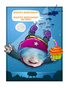 A birthday poster for an adventurous child! Get in touch for your own custom birthday poster! Photo Illustration, Illustrations, Cartoon Posters, Custom Photo, Special Occasion, Birthdays, Touch, Adventure, Children