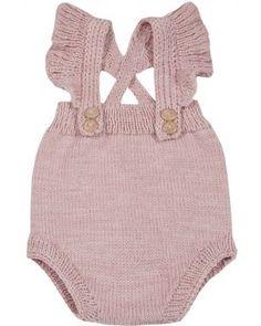 Kalinka Blossom Baby Shorts in Rose
