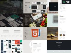Hey Dribbblers!  We thought it would be a good idea to give people the PSD files with the presentation. A lot of designers would be interested in looking at the source and maybe find something new ...