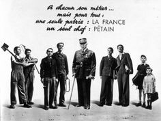 French World War Two Propaganda: Petain Appeals to French Youth