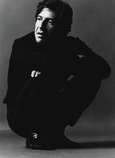 Leonard Cohen, circa 1967, by Jack Robinson.