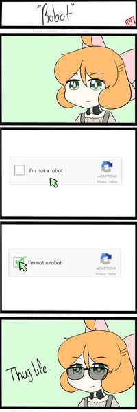 I'm Not a Robot. RWBY