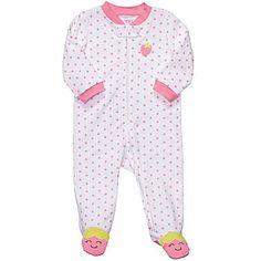 Carter's® Sleep N Play Pajamas - Girls newborn-12m - jcpenney
