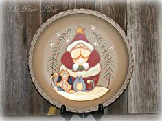 Hey, I found this really awesome Etsy listing at https://www.etsy.com/listing/476258164/hand-painted-shallow-wooden-bowl-with
