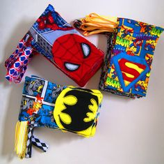 Reserved for Christian - 15 Superman Bags. $45.00, via Etsy.