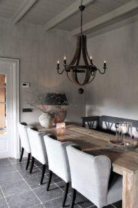 🌟Tante S!fr@ loves this📌🌟Interieurprojecten - Frieda Dorresteijn Interior Design Living Room, Living Room Designs, Interior Decorating, Barn Kitchen, Home Decor Kitchen, Salons Cosy, Home And Living, Ikea, Sweet Home