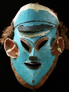 Nyau mask  Chewa people, Malawi  for initiations, funerals and other important events.