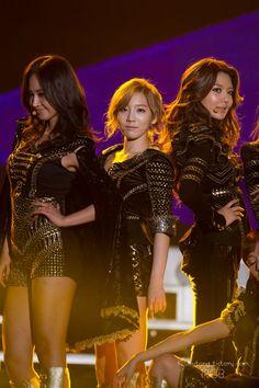 Yuri , Taeyeon , Sooyoung