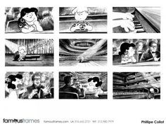 FamousFrames Storyboards, Animatic Artists, Storyboard Artists, Philippe Collot