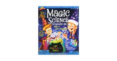 Unleash your inner wizard with this magical science kit! Cast color changing spells, make smoke appear from your fingers, create magical potions, and much more! This awesome kit will teach you the science behind your favorite magic tricks. Also included are laminated cards with magic tricks to baffle all your friends, an instruction booklet with 11 activities, lab equipment, and mysterious wizard powders that will mix together to mystify you!